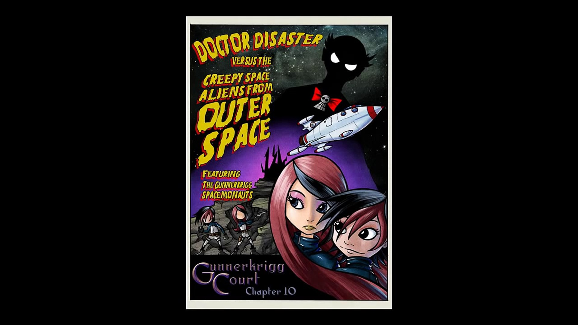 Gunnerkrigg Court Chapter 10: Doctor Disaster Versus The Creepy Space Aliens From Outer Space
