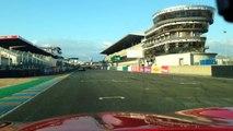 Roulage des collectionneurs 19 octobre 2015 circuit Bugatti Corvette C5 tours 20 a 24 dépassement de