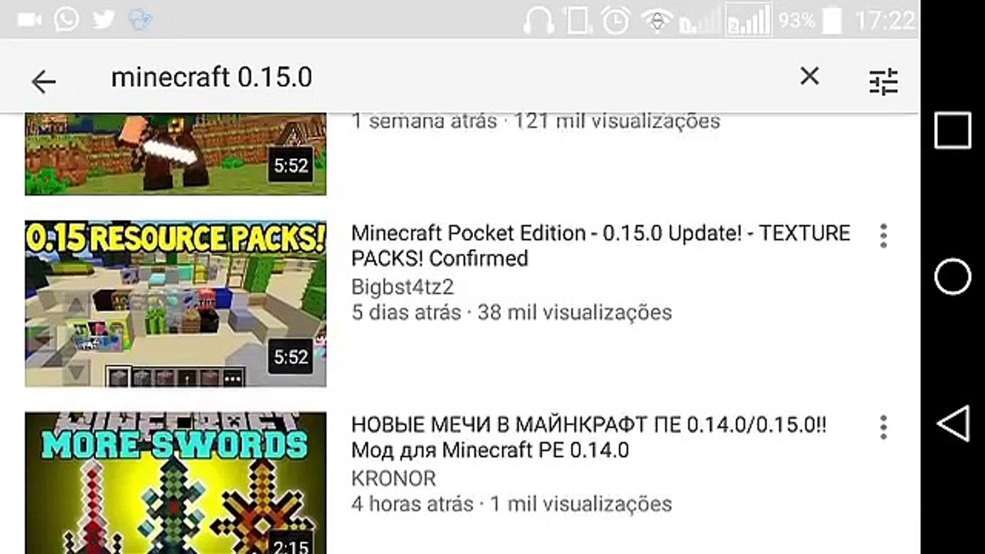 Minecraft pe 0 15 1