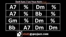 Gypsy Jazz (Jazz Manouche) Backing Track - Dark Eyes / Les Yeux Noirs (Fast)