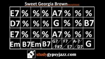 Gypsy Jazz (Jazz Manouche) Backing Track - Sweet Georgia Brown