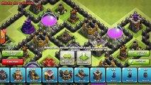 Clash Of Clans | Diseño TOWN HALL 9 Controlador Aereo FARMING BASE | TH9 BASE  Nuevo AIR