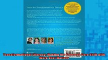 READ book  Transformational Literacy Making the Common Core Shift with Work That Matters Full Free