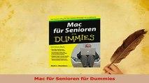 PDF  Mac für Senioren für Dummies Free Books