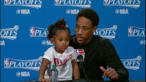 Kyle Lowry & DeMar DeRozan Postgame Interview _ Pacers vs Raptors _ Game 5 _ 2016 NBA Playoffs