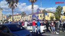 Tifosi euforici bloccano la strada, Juventus Campione Italia 2016 disagi alla festa del 5 scudetto