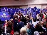 10/20 Barack Obama - Students Turn Out for Obama
