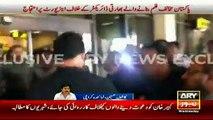 Indian director Kabir Khan faces protest at Karachi Airport