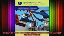 READ FREE FULL EBOOK DOWNLOAD  Montaje de redes eléctricas aéreas de alta tensión ELEE0209 Spanish Edition Full Free