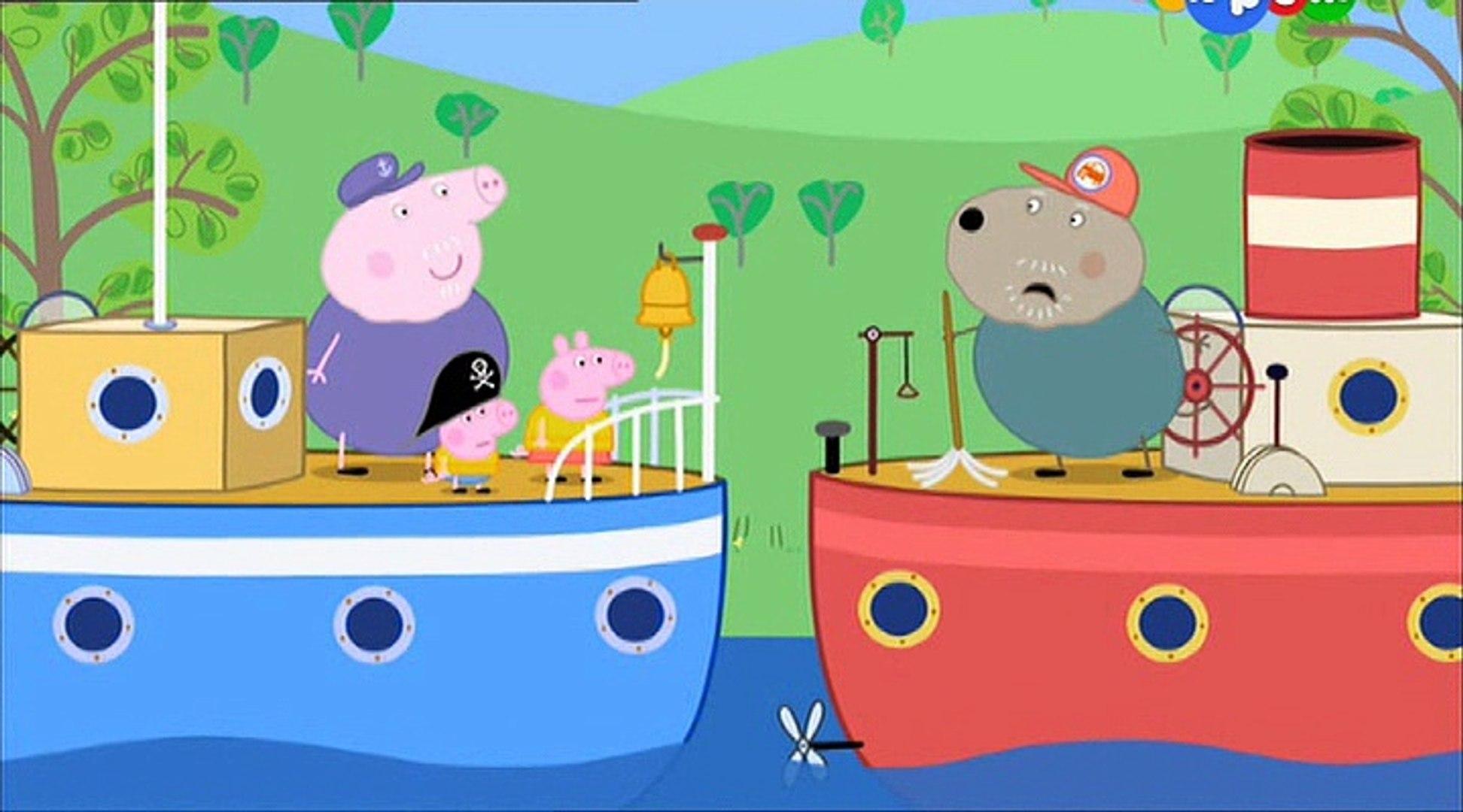 Свинка Пеппа- Речная прогулка Полли- Polly's Boat Trip -Все серии подряд Свинка Пеппа