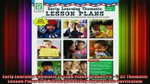 READ FREE FULL EBOOK DOWNLOAD  Early Learning Thematic Lesson Plans Grades PK  1 32 Thematic Lesson Plans for A Full Ebook Online Free