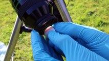 Regarder le soleil à travers un télescope : TRES DANGEREUX! La preuve
