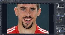 Voilà à quoi ressemble Ribéry après un passage au bistouri numérique