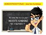 Jasa Seo Surabaya - 0822 4755 3377 ( Tsel )