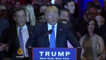 Donald Trump sweeps five US states