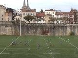 Situation entraînement Rugby à 7 : Tiroir 3X4