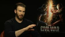 Captain America's Chris Evans on realism in the superhero genre – video interview
