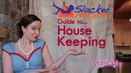 SLACKER MOM Guide to Housekeeping | Cleaning Lazy Mom Funny Mom MomCave