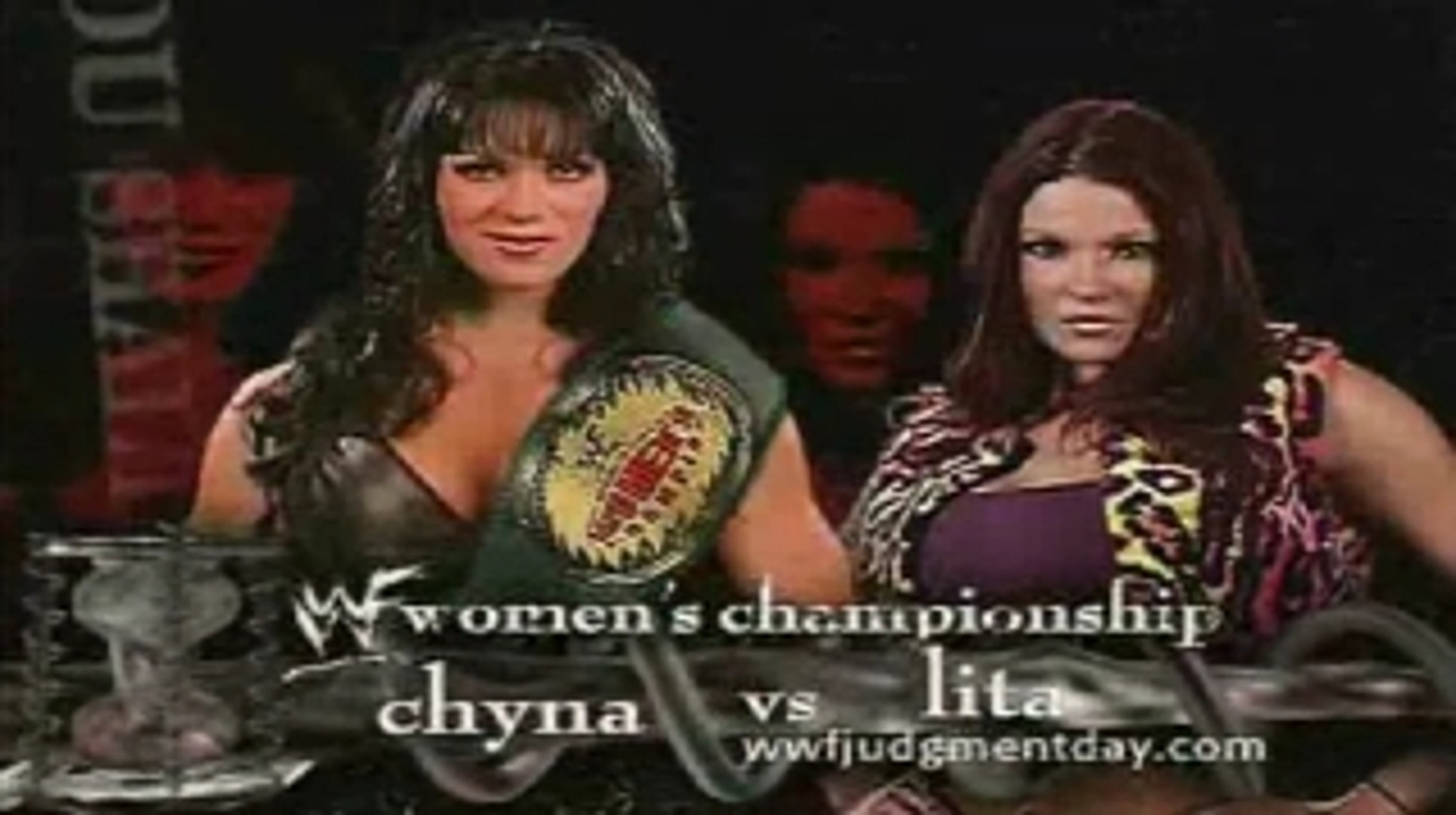 Chyna vs Lita WWF Women's Championship Judgement Day 2001 - 動画 Dailymotion