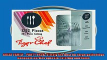 special produk Tiger Chef Heavyweight Polished Silver Plastic Cutlery  384 Forks 384 Spoons 384 Knives
