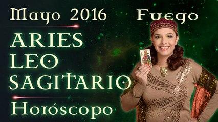Horóscopo ARIES, LEO Y SAGITARIO Mayo 2016 Signos de Fuego por Jimena La Torre
