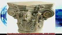 best produk   Acanthus Pedestal 185x18DIAMETER AGED CREAM