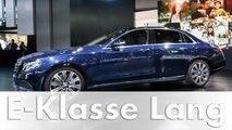 Weltpremiere: Mercedes-Benz E-Klasse Langversion auf der Auto China 2016 | E-Klasse 2016