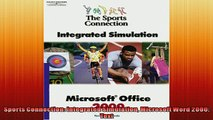 FREE PDF  Sports Connection Integrated Simulation Microsoft Word 2000 Text  BOOK ONLINE