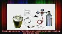 best produk   One Keg Homebrew Party Kegerator with New Kit Ball Lock Keg and 5 LB Co2 Tank