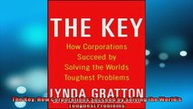 READ book  The Key How Corporations Succeed by Solving the Worlds Toughest Problems  FREE BOOOK ONLINE