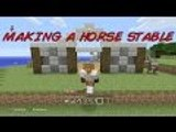 Minecraft PS4 Edition,The Hunt For Herobrine Episode5- making a horse stable