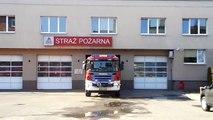 Wyjazd alarmowy 631[M]25 GCBA 5/32 Scania P400/ISS Wawrzaszek