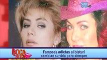 El abuso de las cirugías cambió el rostro que tenía la actriz Gabriela Spanic