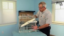 How to replace the spray arms on a dishwasher - Bosch