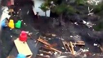 Tsunami: Tsunami in Japan 2011 (Shocking video enhanced ^ stabilize)