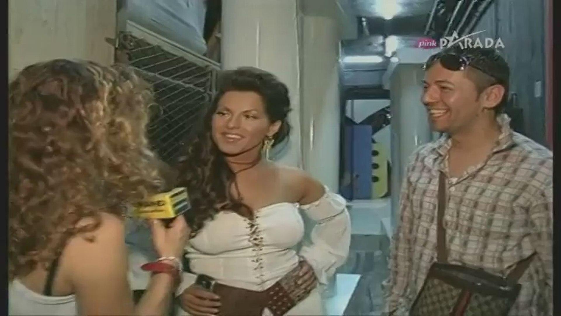 Seka Aleksic i Sasa Vidic - Intervju (Grand show 2005)