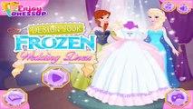Frozen Disney Princess Elsa and Anna Design Wedding Dress - Best Girls Games