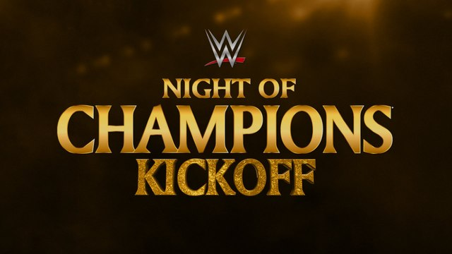 WWE Night of Champions 2015 (Kickoff) - The Lucha Dragons et Neville VS The Cosmic Wasteland