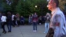 Walibi Holland Halloween Fright Nights Scarezone: Quarantine 10/10/2014