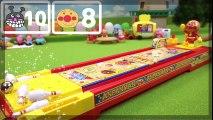 Anpanman y los gérmenes de bolos en contra de anpanman strike bowling juguetes Anpanman VS Baikinman: El boliche de juguete! | HD