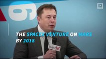 Elon Musk said SpaceX is going to Mars by 2018