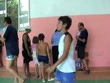 Sfollati dopo incendio Peschici 24/7/2007