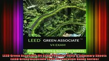 READ book  LEED Green Associate V4 Exam Practice Tests  Summary Sheets LEED Green Associate Exam  DOWNLOAD ONLINE