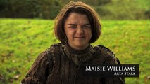 Game of Thrones_ Roast Joffrey - Maisie Williams Lists Her Hated Joffrey Moments (HBO)