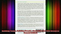 READ book  Building Teams Building People  Expanding the Fifth Resource Second Edition Full EBook