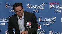 Erik Spoelstra Postgame Interview _ Hornets vs Heat _ Game 5 _ April 27, 2016 _ NBA Playoffs