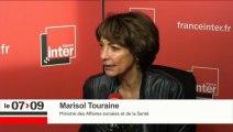 Marisol Touraine était l'invité de Marc Fauvelle et des auditeurs de France Inter