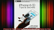 READ book  iPhone 6s Tips  Secrets For iPhone 6s and iPhone 6s Plus Full Ebook Online Free