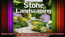 FAVORIT BOOK   Ideas  HowTo Stone Landscaping Better Homes and Gardens Better Homes and Gardens READ ONLINE
