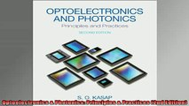 FAVORIT BOOK   Optoelectronics  Photonics Principles  Practices 2nd Edition  FREE BOOOK ONLINE